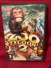 Zoo Tycoon 2-PC CD Rom Video Game-2004-Free Shipping