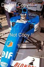 Michael Schumacher testing the Ligier JS39B at Estoril 1994 Photograph