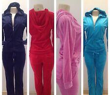 Velour Set Track Suit Hoddie Yoga Pants Jacket Sweats Sport S M L XL 1X 2X 3X
