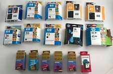 Lot of Expired HP and Lexmark Ink (17 Cartridges) (Less than $5 each)