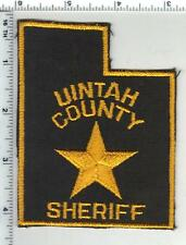 Uintah County Sheriff (Utah) 1st Issue Shoulder Patch