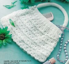New listing Pretty Shell Purse/Crochet Pattern Instructions Only