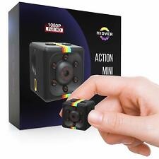 Hidden Spy Camera 1080P Mini Security Wireless cam with Night Vision Outdoor Use