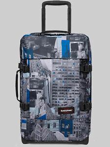 EASTPAK Trolley Koffer TRANVERZ S EK61Chroblue 42L mit TSA Schloss