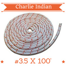 #3.5 - 7/64 Dia. (2.78mm) X 100' Premium Smooth Braid Nylon Recoil Rope (11737)