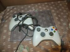 Lot of 2 Xbox 360 Controller for part or repair  1 wire 1 wireless