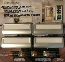 Capstone Lighting 4 LED Accent Light Bars with Remote Control