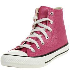 Converse CTAS Hi Mädchen Glitter Hi-Top Kinder Sneaker 667569C Pink