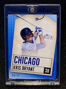 2014 Leaf Rize Kris Bryant RC 4/25