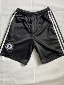 Chelsea FC Shorts Boys Medium - Black Used