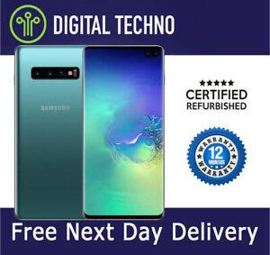 NEW Samsung Galaxy S10+ S10 Plus - Green 128GB Phone Unlocked + 1 Year Warranty
