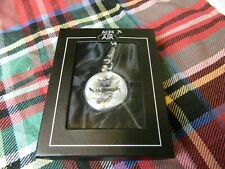 & chain in presentation box Aces in the Air pocket watch