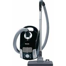 Miele Compact C1 PowerLine Bagged Cylinder Vacuum Cleaner Obsidian Black
