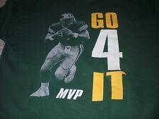 Vintage green Brett Favre crewneck sweatshirt XXL 2XL Go 4 It MVP Packers