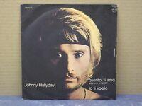 JOHNNY HALLYDAY - QUANTO TI AMO - 45 GIRI - VG+/VG+