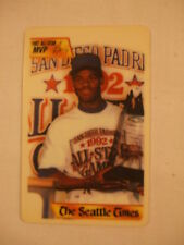 1992 Alrek Enterprises Seattle Times Ken Griffey Jr. Griffey's Golden Moments