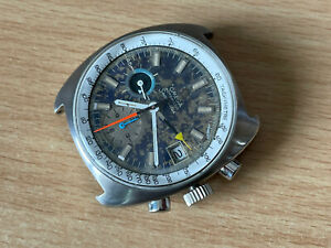 omega Seamaster Chronograph for Parts Or Repair RUNNING