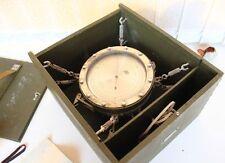 Rare Soviet Russian USSR (CCCP) Navy Marine Barometer Chronometer 1978