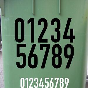 18cm DIN1451 Wunsch Wahl Nr Aufkleber Haus Nummer Ziffer Zahl Hausnummer Tattoo