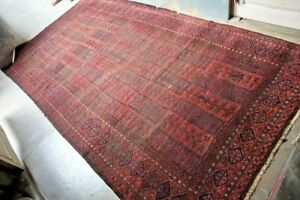 COLLECTORS' PIECE Antique Above 100 Years Old Qalam Dani Tribal Belouch Carpet