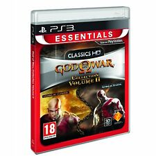 GOD OF WAR ORIGINS COLLECTION 2 II HD EN CASTELLANO NUEVO PRECINTADO  PS3
