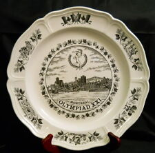 1976 Olympic Games Montreal - Etrururia Barlaston Wedgwood commemorative plate
