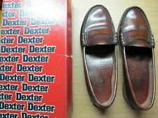 DEXTER TAN LEATHER LOAFERS, Size 7.5