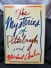 Michael Chabon - MYSTERIES OF PITTSBURGH - Signed First Edition, First Printing
