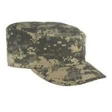 US Military Issue Army Combat Uniform ACU Camouflage Patrol Cap Hat SIZE 7 1/8