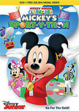 Mickey Mouse Clubhouse: Mickey's Sport-Y-Thon(DVD+Gold Medal) Used Excellent Con
