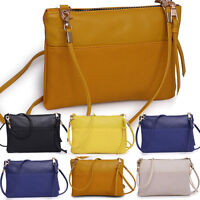 Women Crossbody Handbag Ladies Leather Bag Shoulder Bag Tote Messenger Purse YE