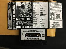 DJ Mister Cee Hip Hop According To Cee Lesson 4 NYC Tape Kingz Mixtape Cassette