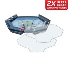 2 x KAWASAKI Z800 2012+ Tableau de Bord protecteur d'écran: Ultra-Transparent