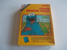 COOKIE MONSTER MUNCH  ATARI 2600 / 7800 GAME BOXED COMPLETE