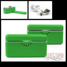 2X 2800MAH EXTERNAL GREEN BATTERY BACKUP CHARGER USB IPHONE 4S 4 3GS IPOD TOUCH