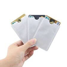 3x RFID Blocking Sleeve Credit Card / Bank Card Protector Holders for Wallets UK