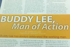 3 Page Article About Lee Company Buddy Lee - February 2005 Doll Reader Magazine