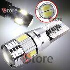 2 LED T10 6 SMD Lampade HID Canbus 5630 BIANCO Luci No Errore Posizione Xenon