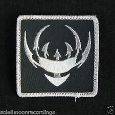 COIL blade logo patch - john balance scatology black sun chaos star logo 11918