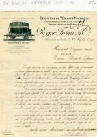 Dépt 30 - Saint Gilles du Gard - Belle Entête Location de Wagons Foudres de 1912