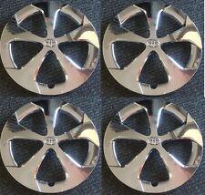"15"" 5-spoke CHROME Hubcap Wheelcover SET fits 2012-2015 Toyota PRIUS"