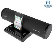 Docking Station Speaker for iPhone iPod Nano Touch AZATOM House dance BLACK