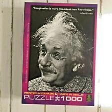"""Eurographics Albert Einstein """"Imagination"""" 1000 Piece Jigsaw Puzzle"""