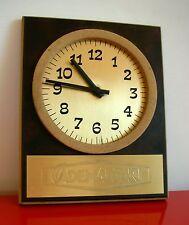 CADEMARTORI FORMAGGI Orologio Pubblicitario da Parete 1960 Vintage Clock SUGHERO