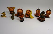 Clay Pottery Nativity Set Miniature