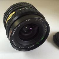 SUPER PARAGON PMC II 28mm f2.8 MACRO Lens - MINOLTA MD FIT 'EXCELLENT'