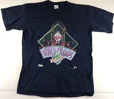 Vintage Mens XL Minnesota Twins 1991 World Series Champion T Shirt Single Stitch