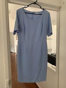 Target Size 12 Light Blue Lined Work Dress