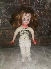 More details for ooak musical haunted porcelain doll vessel amy negative energy