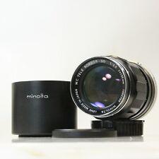 135mm f/3.5 MC TELE ROKKOR-QD Minolta MD Mount Telephoto Portrait 135mm (C1360)